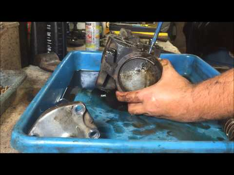 how to rebuild power steering gear box saginaw part 1 tear down
