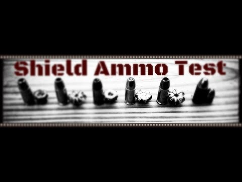 Smith & Wesson M&P Shield 9mm Duty Carry Ammo (Gold Dot, HST.) Ballistics Gel Test (HD)