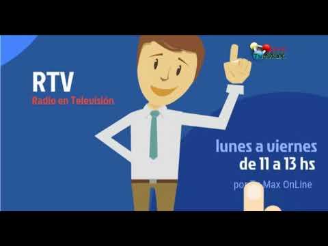17- RTV 2  NOTICIAS ACTUALIDAD  07 dic 2017 Tv Max  Live Máximo Paz SF AR