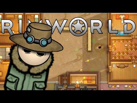 Will Winter Turn us Cannibal? - RimWorld 1.0 Gameplay