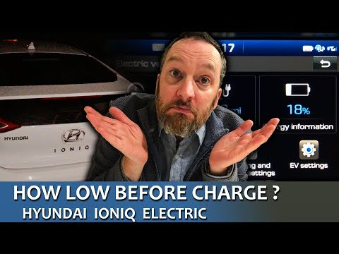 How Low Before Charge? IONIQ Electric