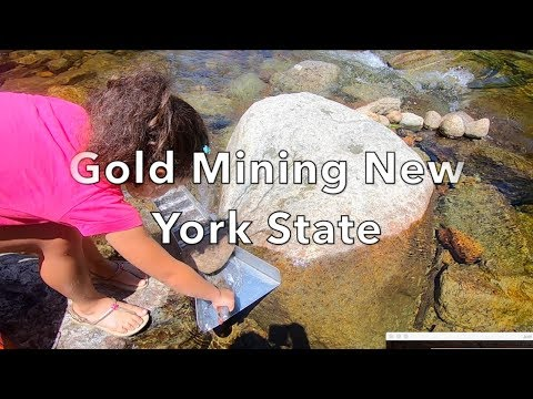 Gold Mining In The Adirondacks: (Part 1) Metal Detecting NYC