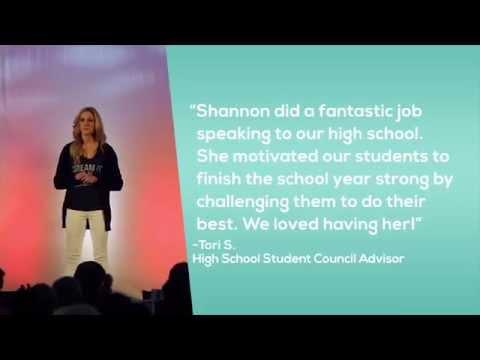20152016 Motivational Keynote Speaker Shannon McKain Oleen