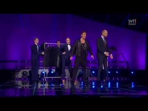 Danny Saucedo - Karl För Sin Kostym Melodifestivalen 2013