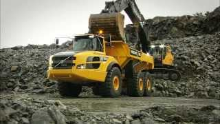 Volvo G-series Articulated haulers promotional video