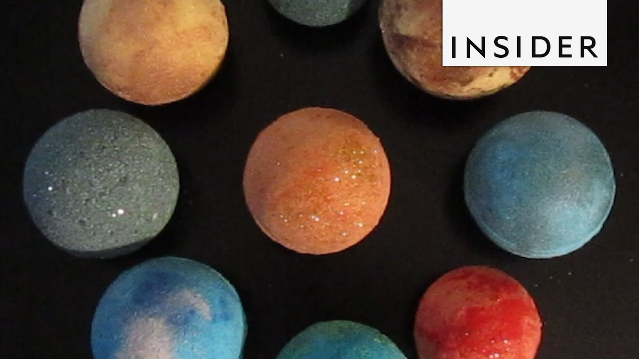 Solar System Bath Bombs And Other Cool Bath Bombs Youtube