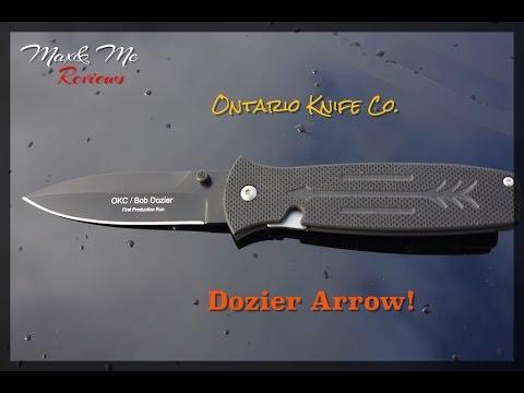 Ontario Knife Co Dozier Arrow Review