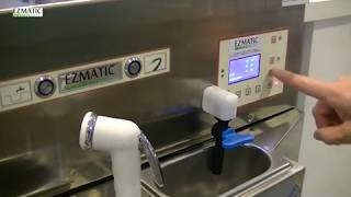 EZMATIC Gelato Machine cleaning reinigen