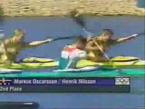 Telecronaca Galeazzi oro olimpico Rossi/Bonomi Sidney 2000