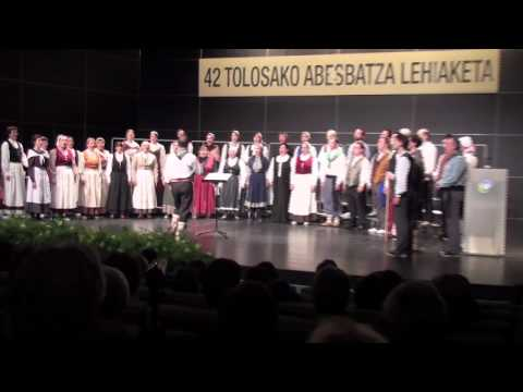 arr. David Azurza: Oihu Hau  -  Hodeiertz Abesbatza + Oroith, Tolosa, Spain