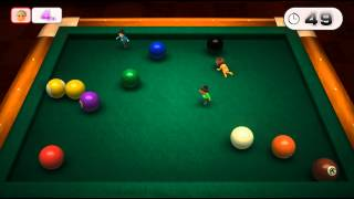 Wii Party U Minigame: Pool Party