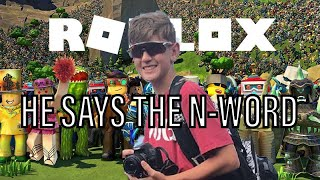 MICHAEL SAYS THE N WORD IN ROBLOX(ft. Michael Milfs & Thicy Vicy)