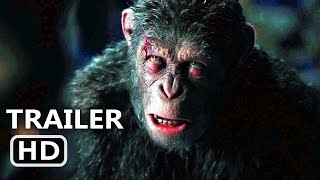 WАR FOR THE PLАNET OF THE АPES Official Trailer # 2 (2017) Action Blockbuster Movie HD