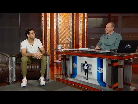 Actor Rick Glassman of Series 'Undateable' Joins The RE SHow in Studio  10815