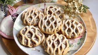 Elmalı kafes kurabiye ✅ Elmalı minik turtalara bayılacaksınız 👌🏼