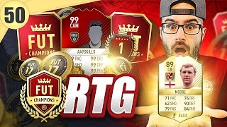THIS LEGEND CARD WILL SAVE MY D! - Road To Fut Champions - fifa 17 ultimate team #50