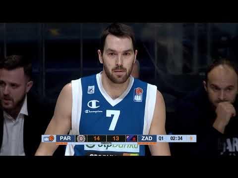 ABA Liga 2017/18, Round 15 match: Partizan NIS - Zadar (4.1.2018)
