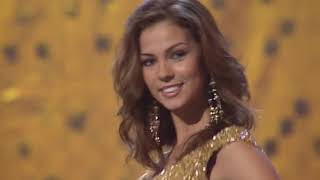 EVENING GOWN: 2005 Miss Universe