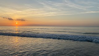 Download Sunrise beach walk