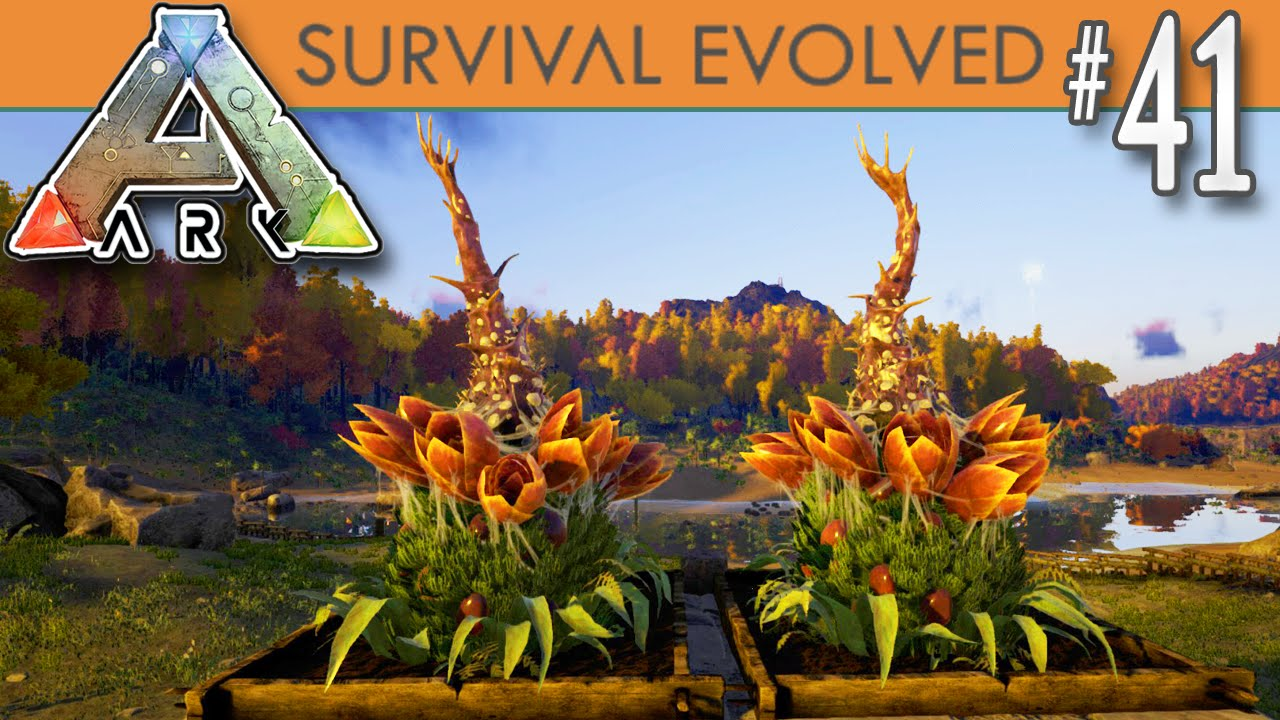 Ark survival evolved plant species x turrets e41 for Plante x ark