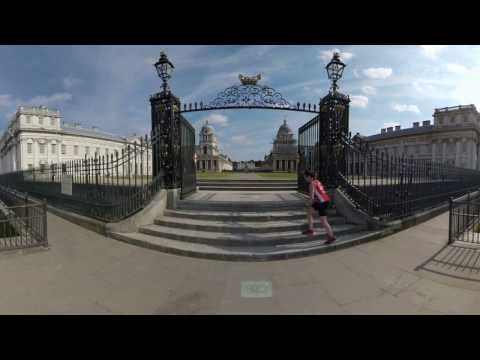 University of Greenwich - The Old Royal Naval College  (Virtual Reality - 360°)