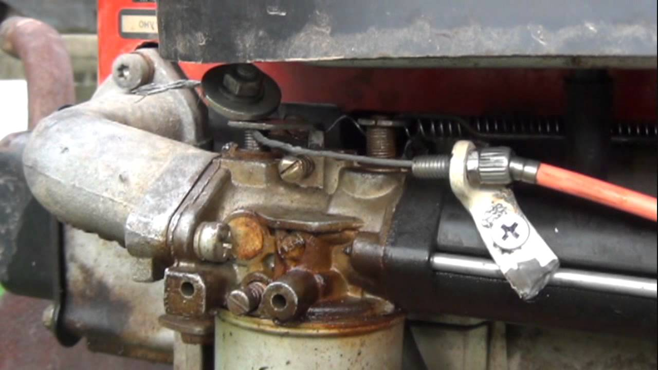 Racing tractor how to modify a 12 hp TEC 12 Techumseh engine