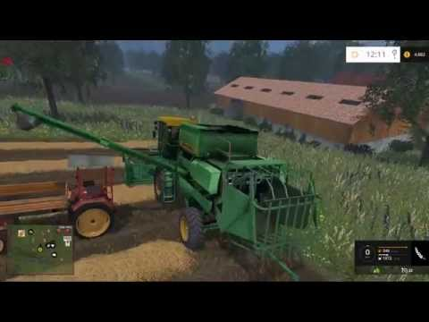 "Vieille France map for Farming Simulator 15  part 2 ""crops"""