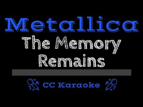 Metallica   The Memory Remains CC Karaoke Instrumental