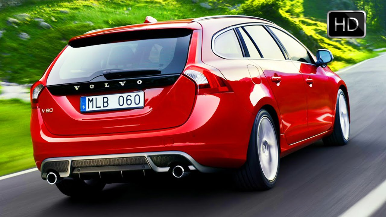 2015 Volvo V60 Plug-in Hybrid R-Design Exterior and Test Drive HD - YouTube