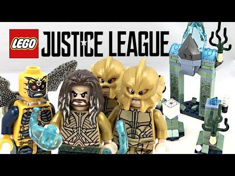 LEGO Justice League Battle of Atlantis review! 2017 set 76085!