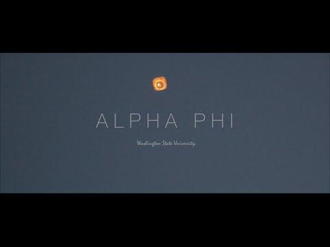 Alpha Phi | Washington State University 2016
