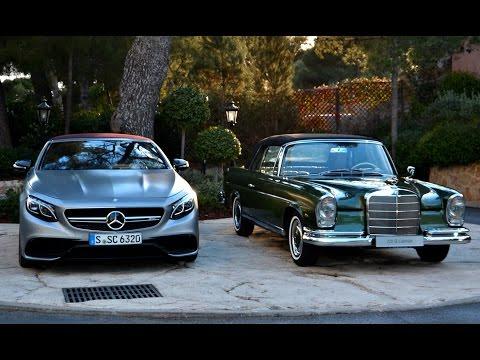 Тест драйв самого роскошного кабриолета Mercedes Benz