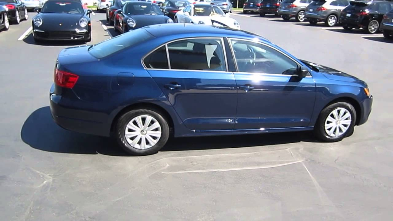 volkswagen jetta tempest blue metallic stock  youtube