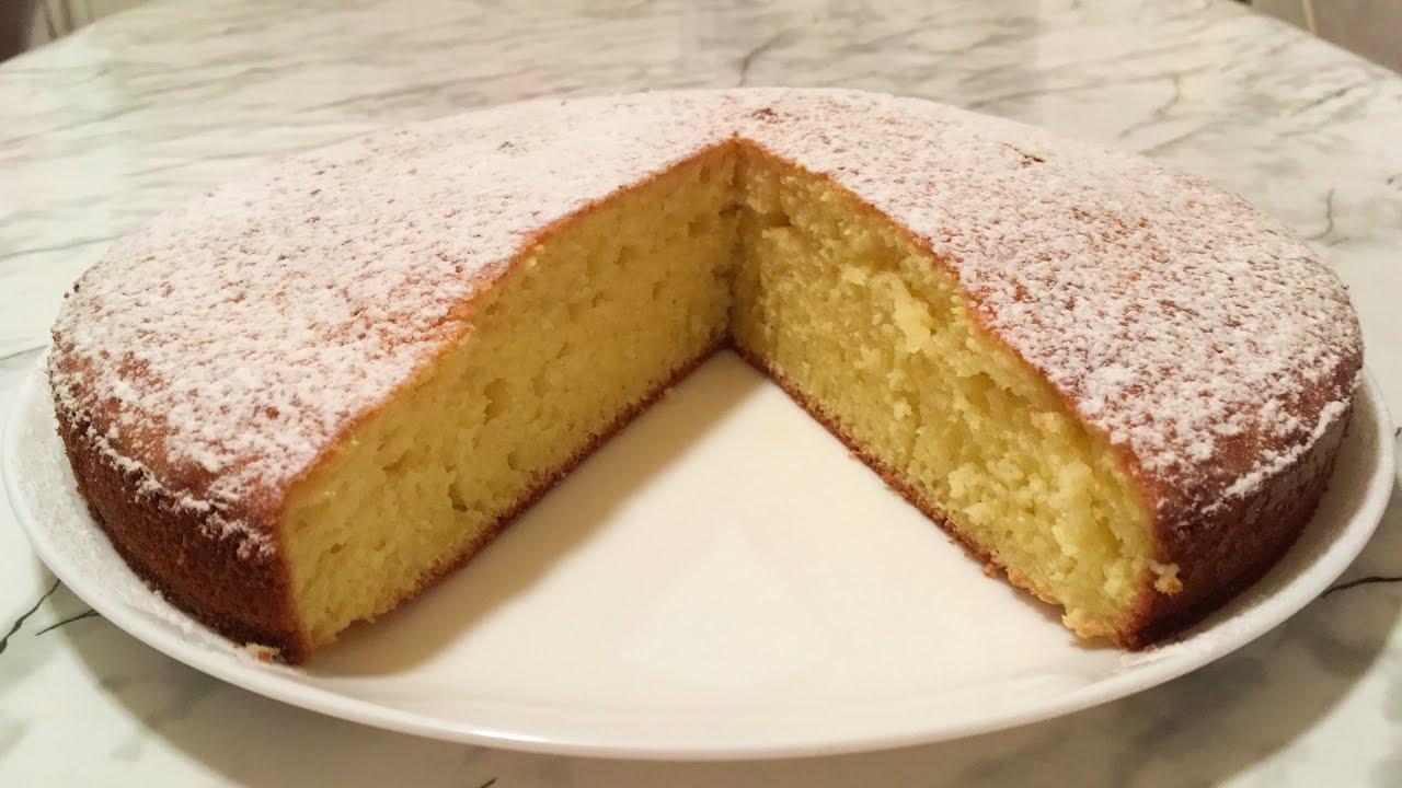 Торт манник простой рецепт на кефире