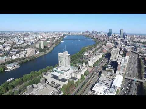 From Cambridge to Boston with the DJI Inspire 1, Drone Footage