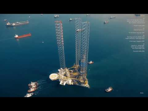 Robotic Building | TU Delft & DIA : D2RP : Repurpose of Abandoned Drilling Rigs in the North Sea