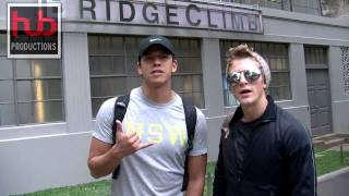 Chaske Spencer & Charlie Bewley Shout Out from Sydney
