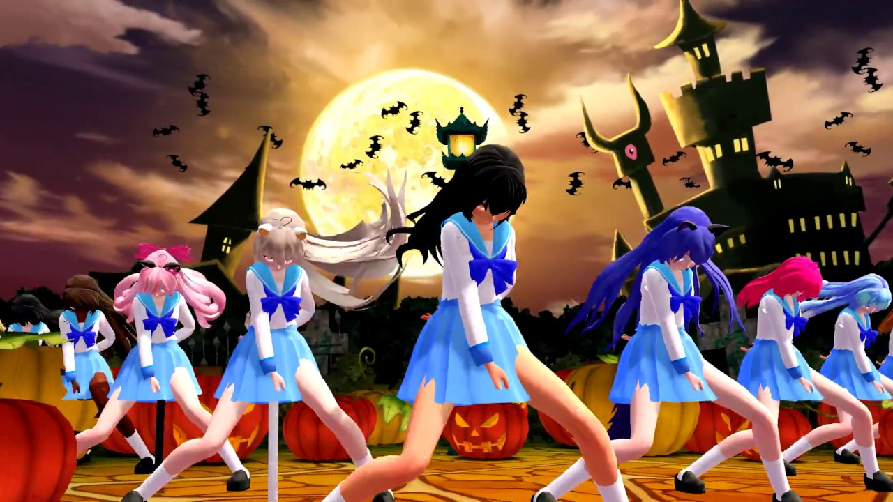 mmd x aphmau this is halloween