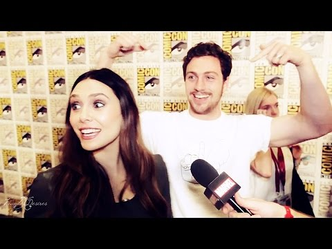 ► Aaron TaylorJohnson  Elizabeth Olsen  Timber