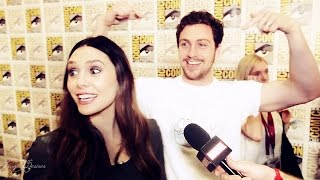 ► Aaron Taylor-Johnson + Elizabeth Olsen | Timber