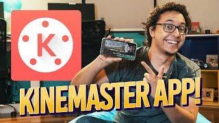 Como usar o KINEMASTER - App de Edição de Vídeo no Celular