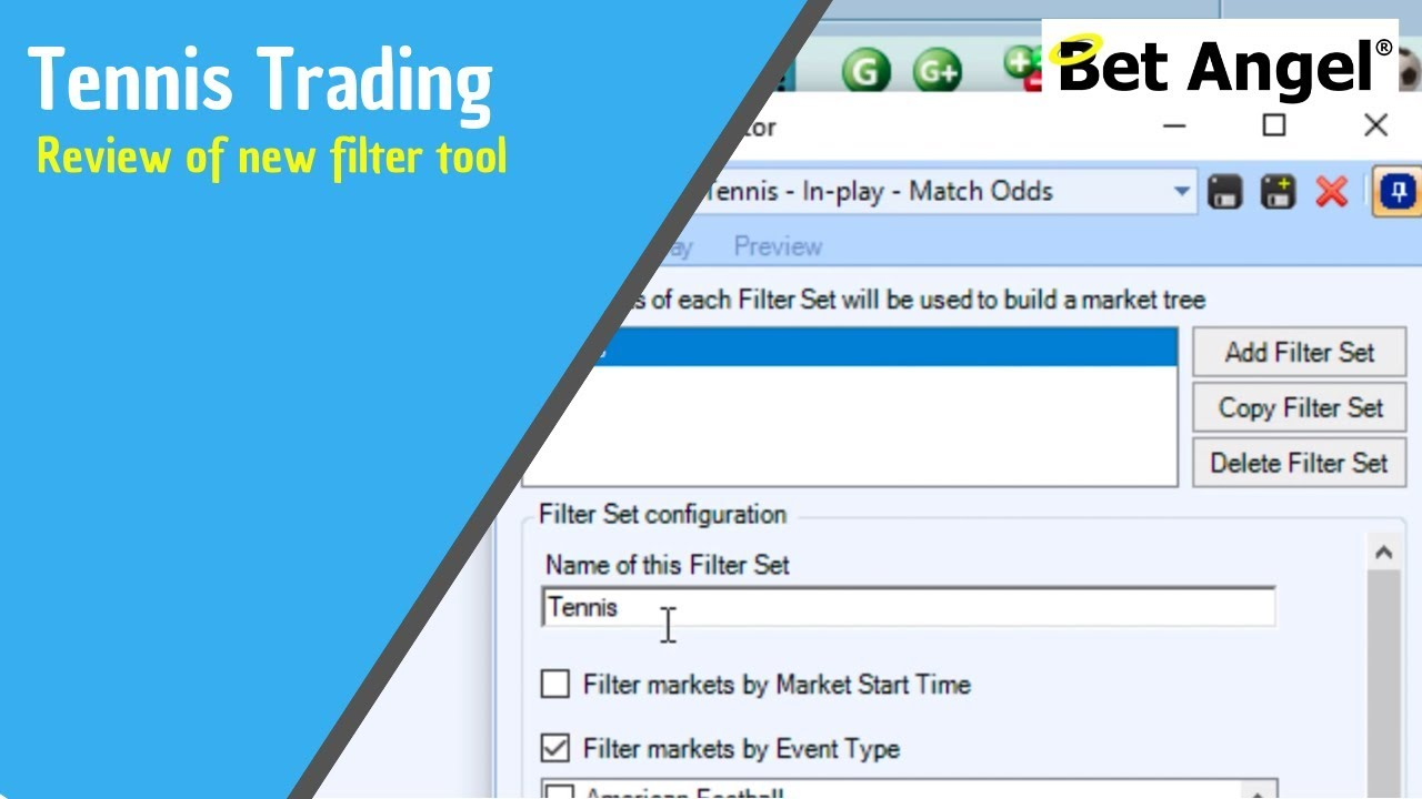 Betfair Trading Tools