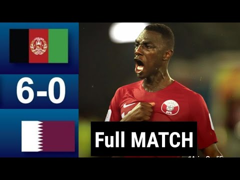 Qatar vs Afghanistan 6 - 0 full match