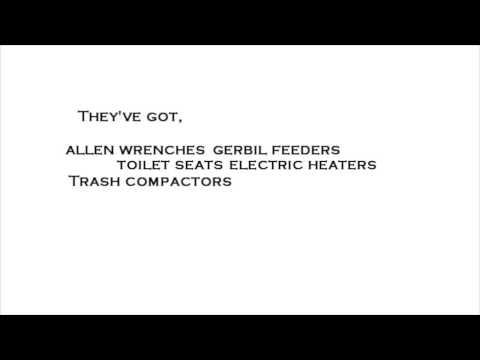 """Weird Al"" Yankovic - Hardware Store | Lyrics | HD"