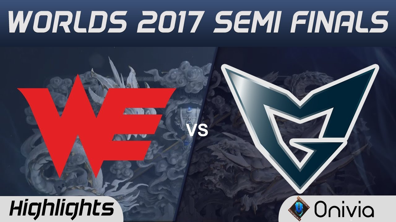 WE vs SSG Highlights Game 4 World Championship 2017 Semi Finals Team WE vs Samsung Galaxy by Onivia