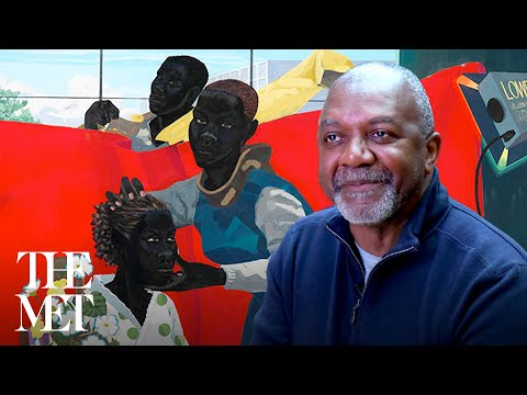 "Contemporary Artist Kerry James Marshall On His Painting ""Untitled (Studio)"