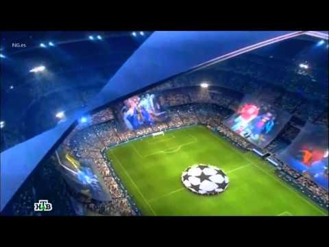 UEFA Champions League 2013 Intro - Gazprom