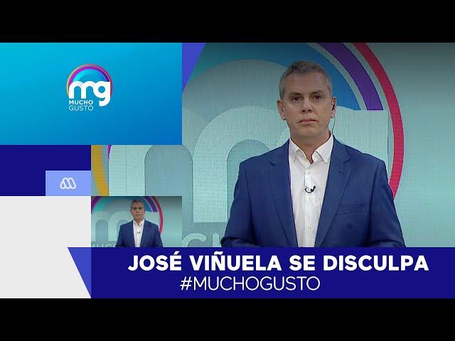 José Viñuela se disculpa: