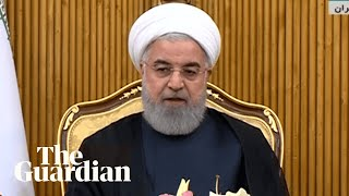 Iranian president says military parade attackers will be brought to justice