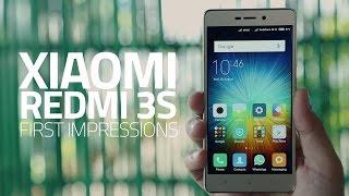Xiaomi Redmi 3S: First Look